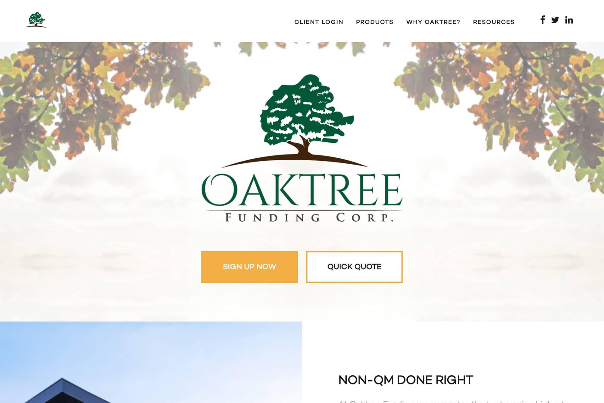 Oaktree Wholesale Website